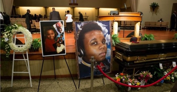 Usa, a St Louis funerale di Michael Brown