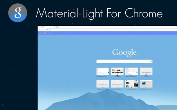Material Design anche su Chrome per computer