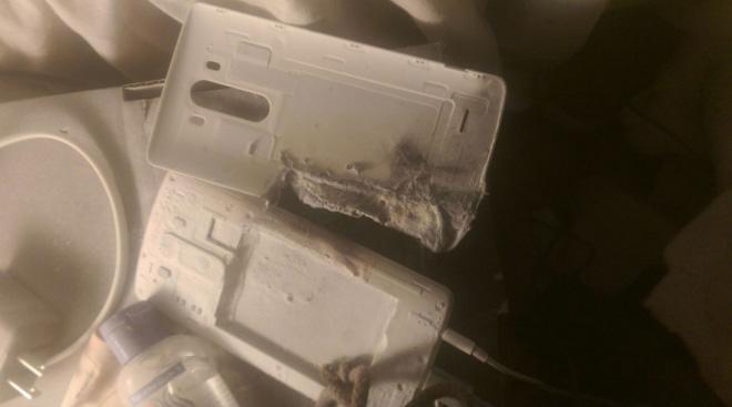 LG G3 esplode: illesa la proprietaria