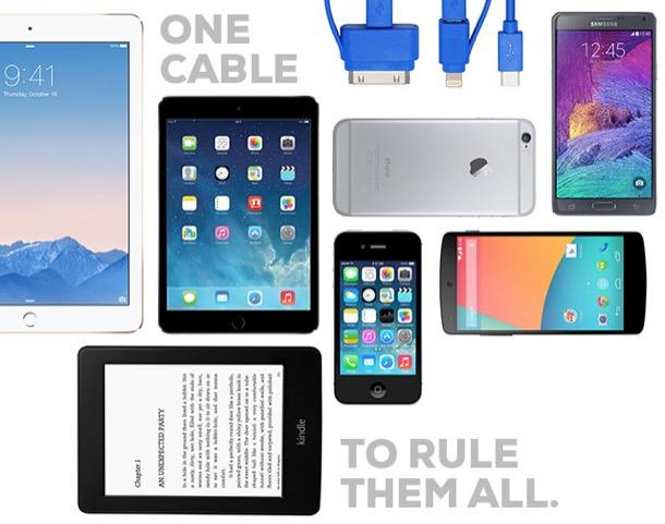 Su Kickstarter arriva un cavo per ricaricare tutti i dispositivi tech - OverPress
