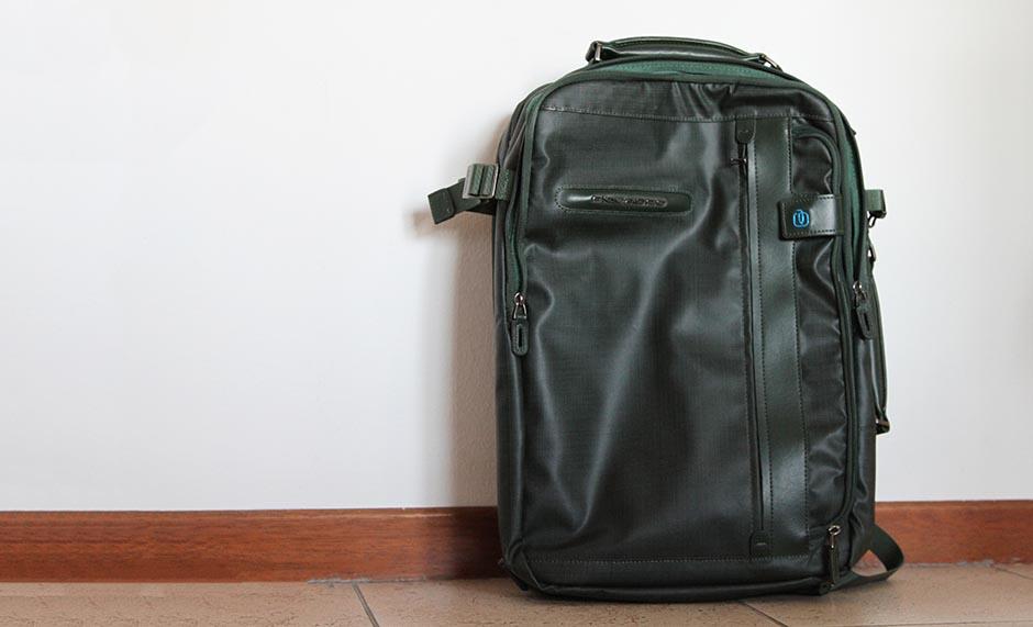 Cartella con portabilit a zaino tasca porta pc e porta - Zaino porta pc 12 pollici ...