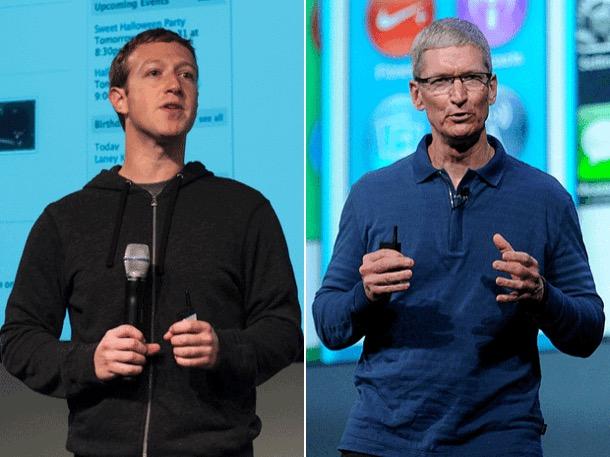 Zuckerberg: Apple dovrebbe far pagare meno i suoi prodotti