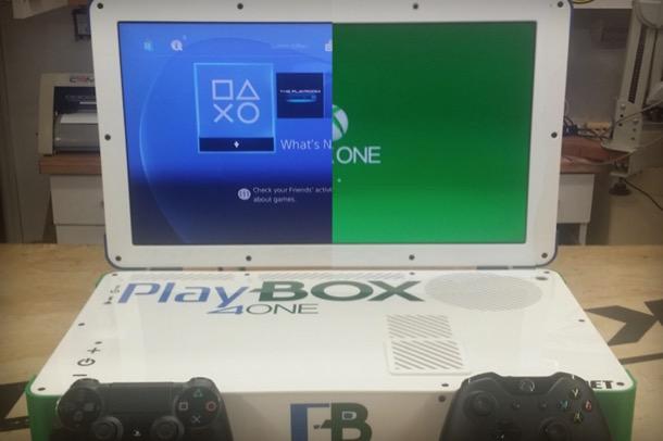 PlayBox: l'ultima creazione di Eddie Zarick combina PS4 e Xbox One - OverPress