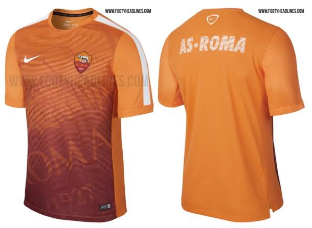 Roma 2015 nike pre-match