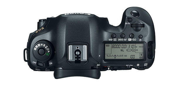 Canon EOS 5Ds Top