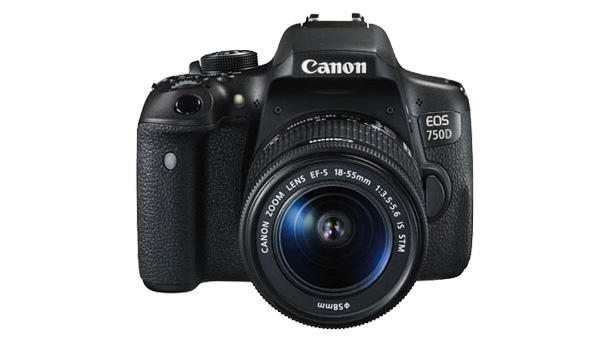 Canon EOS 750D dci frnt