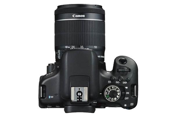 Canon EOS 750D dci top