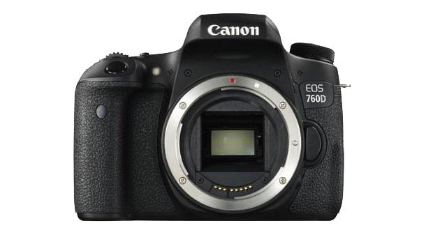 Canon EOS 760D dci front