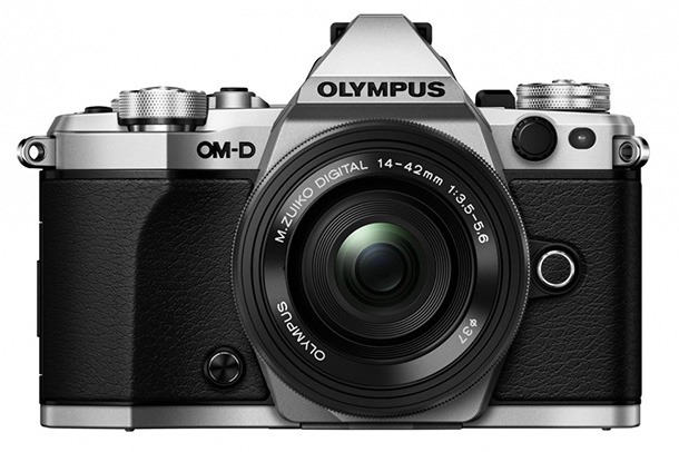 Olympus OM-D E-M5 MARK II front