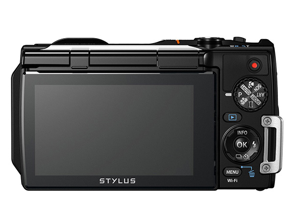Olympus Stylus Tough TG-860 rear