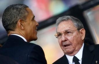 Obama - Raul Castro