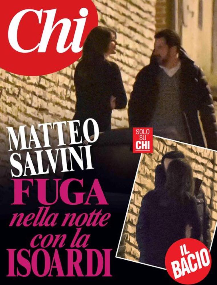Bacio Salvini Isoardi