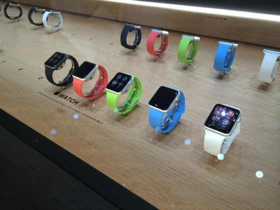 Apple Watch vetrina