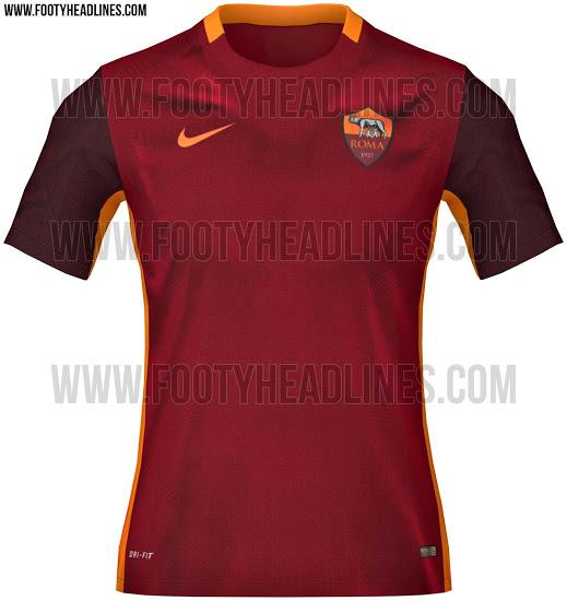 Maglia Roma 2015-2016
