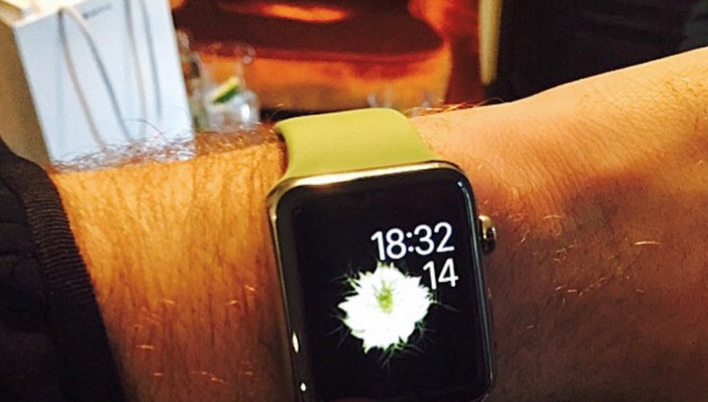 Sam Smith Apple Watch