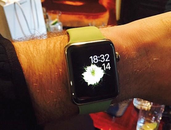 Sam Smith Apple Watch