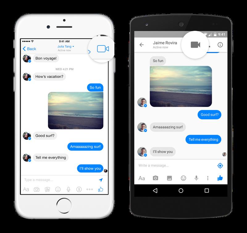 facebook messenger videochiamate
