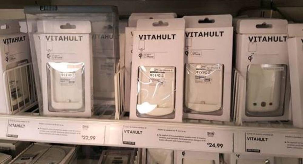 Ikea le cover per ricaricare wireless iphone e galaxy in - Porta phon ikea ...