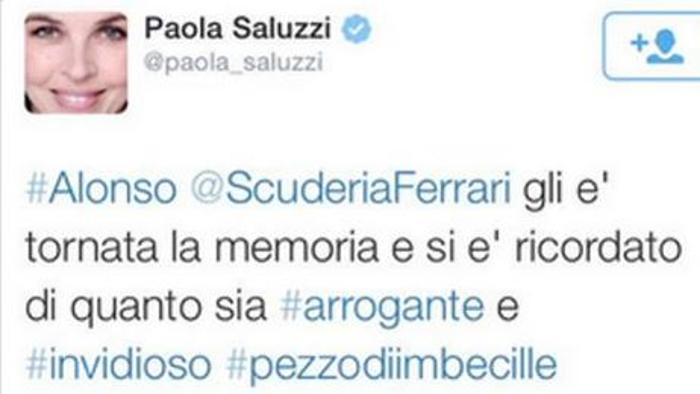 saluzzi tweet alonso