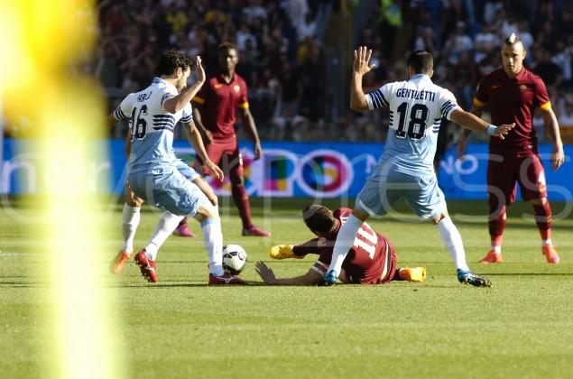 Lazio - Roma: tutte le foto del derby della Capitale