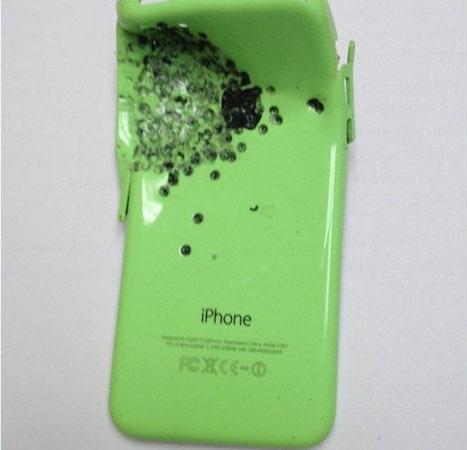 iphone 5c sparo