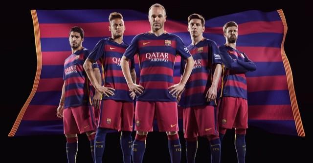 nuova prima maglia barcellona 2015 2016