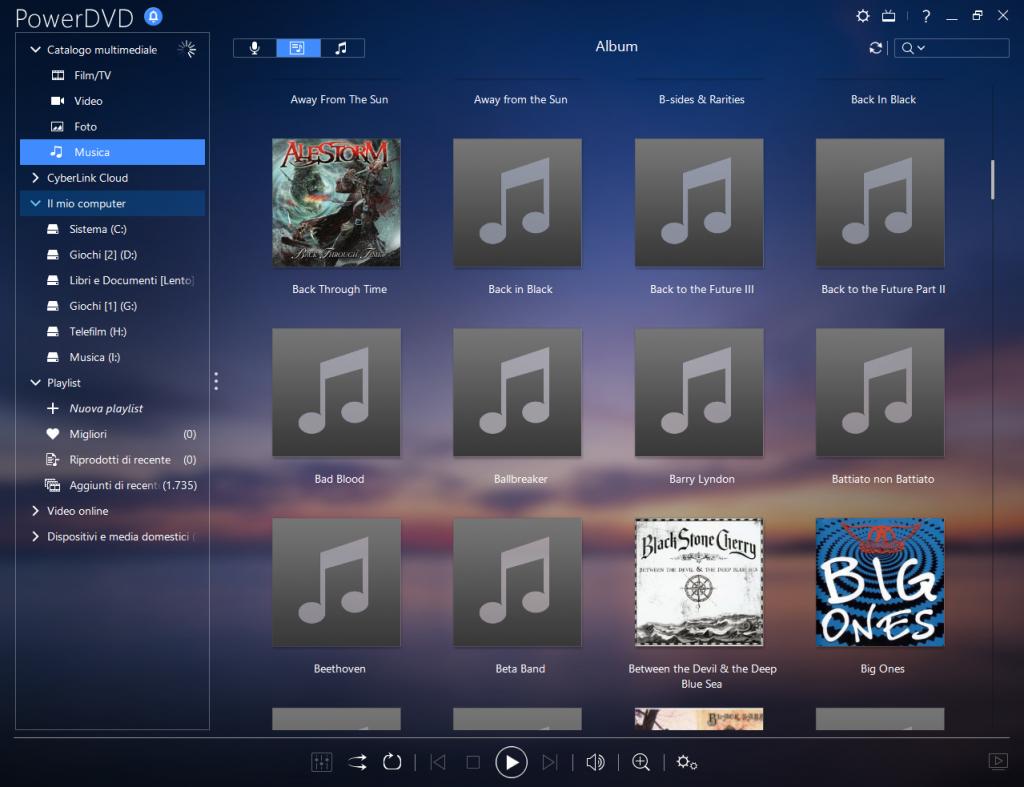 powerdvd 15 musica