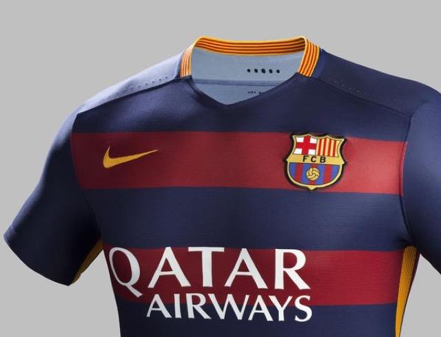 prima maglia barcellona 2015 2016