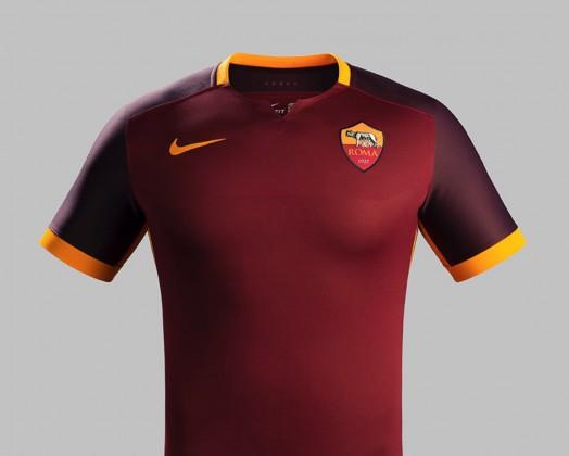 Roma prima maglia 2015-2016