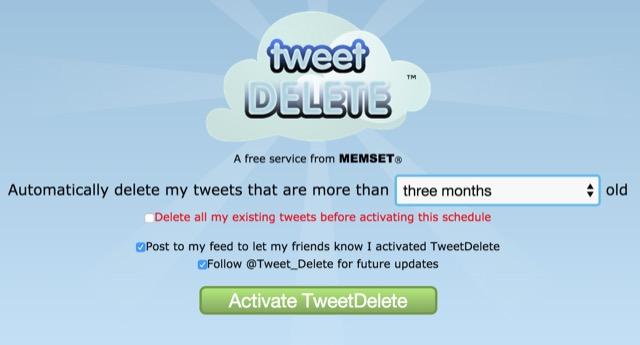 TweetDelete Twitter