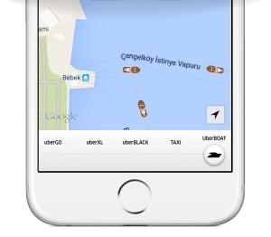 UberBOAT app