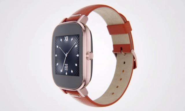 ZenWatch 2: ASUS presenta l'anti Apple Watch al Computex 2015