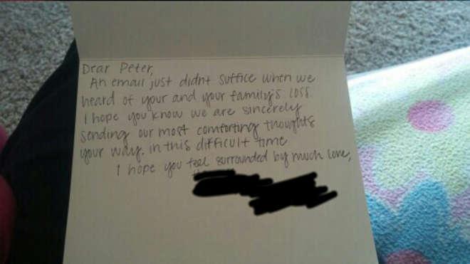 lettera Google Peter
