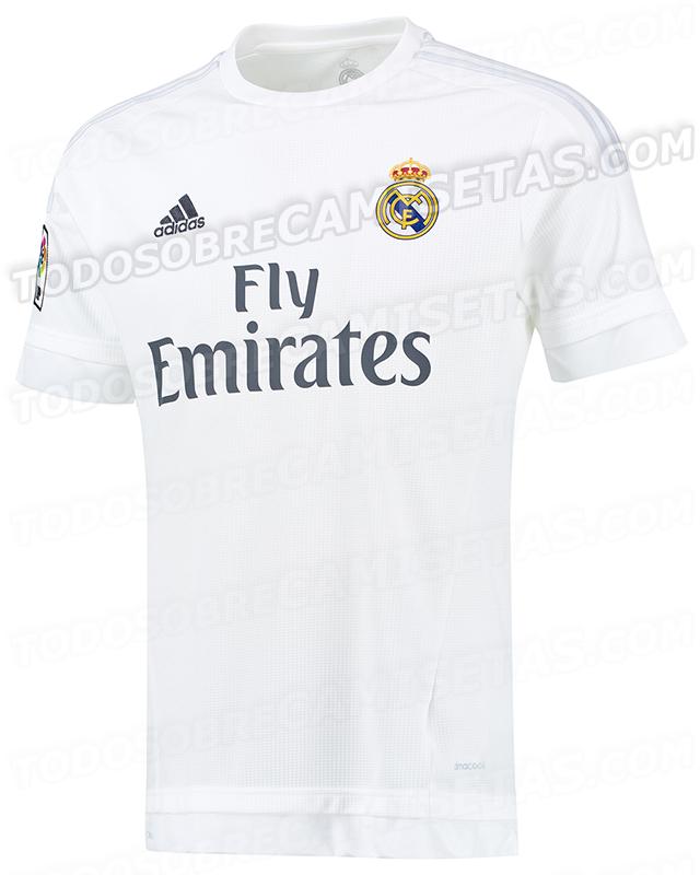 nuova maglia Real Madrid