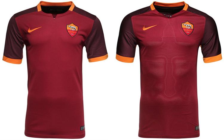 nuova maglia roma 15-16 nike