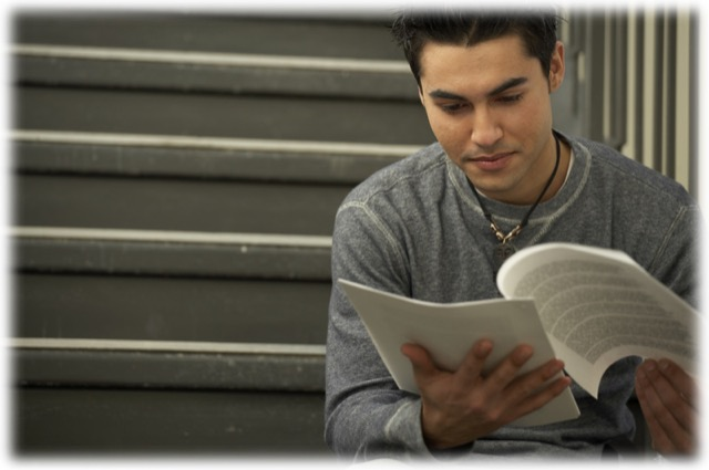 student-reading