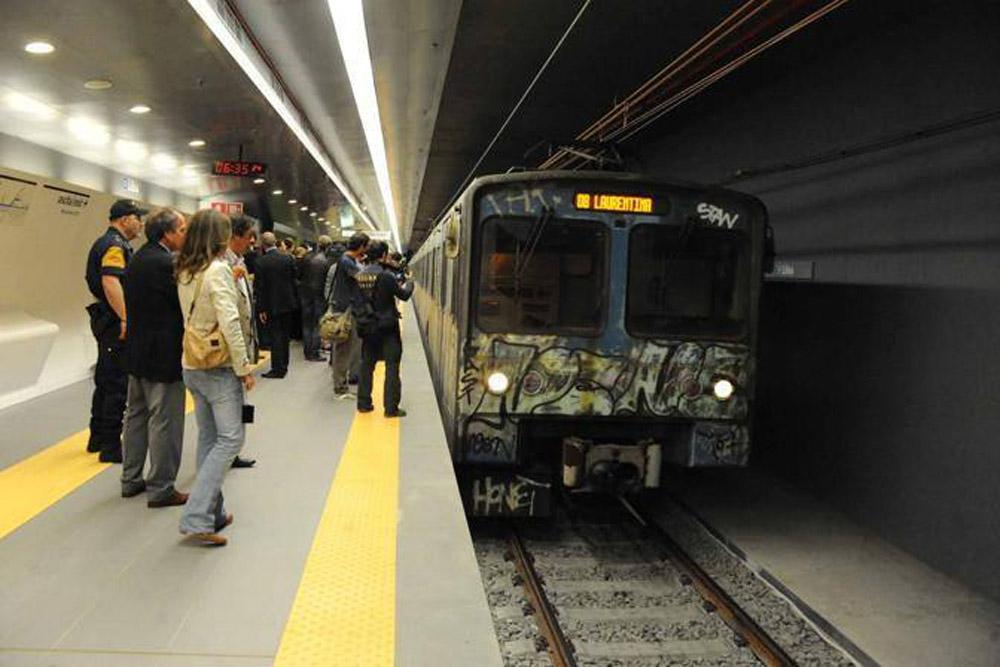 vagone metro b