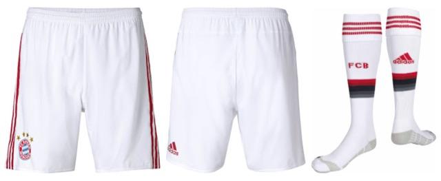 Bayern Monaco 2015-2016 pantaloncini
