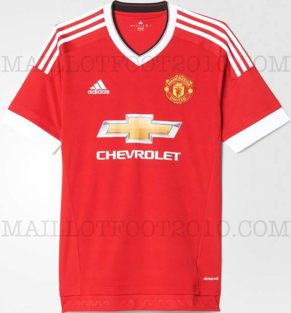 Prima maglia Adidas 2015-2016 manchester united