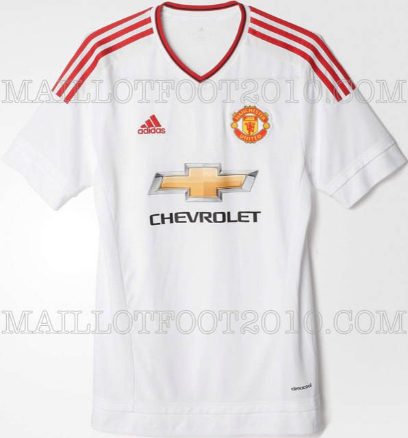 Seconda maglia Adidas 2015-2016 manchester united