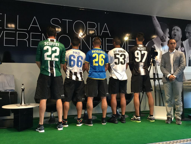 Udinese nuove maglie 2015-2016
