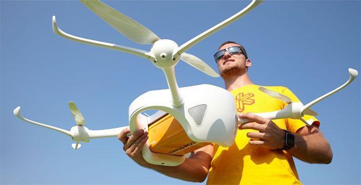 droni consegna