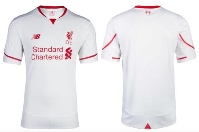 nuova maglia liverpool 2015-2016