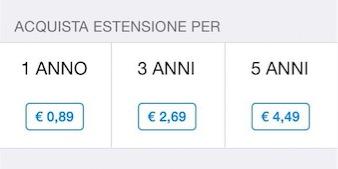 prezzi whatsapp