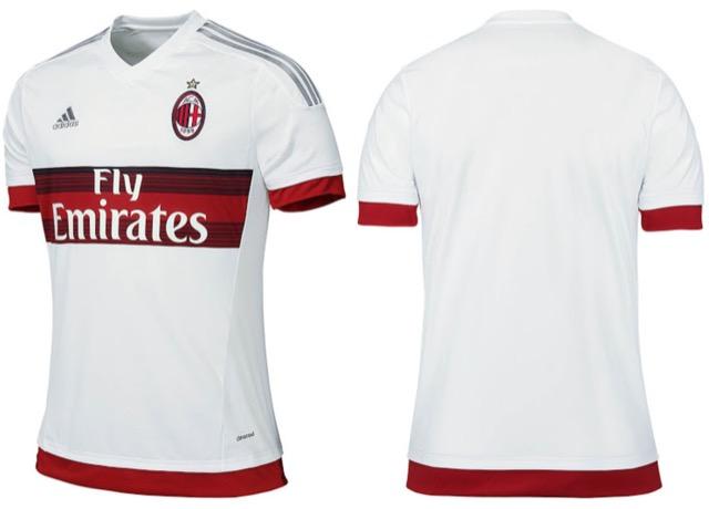 seconda maglia milan 15-16