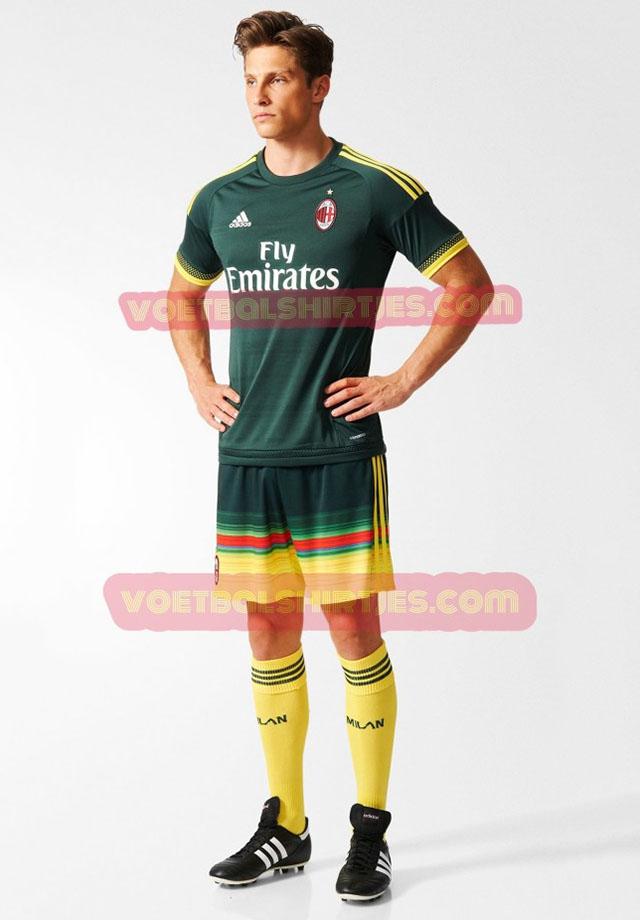 b750cd1949721c Milan: foto della terza maglia Adidas al completo - OverPress