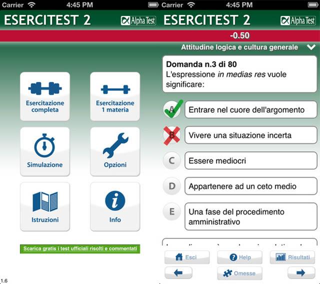 test medicina 2015 app