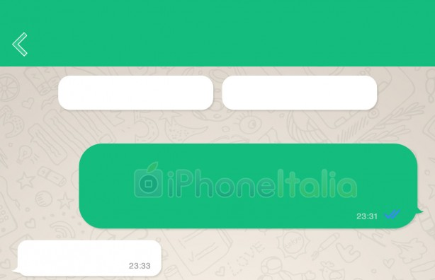 whatsapp interfaccia