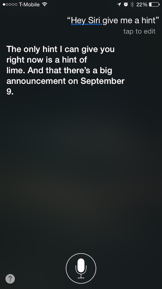 Siri evento Apple
