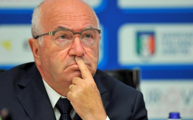 Il Presidente della FIGC, Carlo Tavecchio